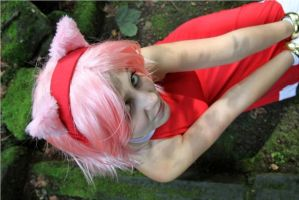 Amy Rose by NamimoreCosplay