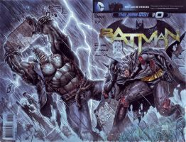 Batman Vs Grundy by edtadeo