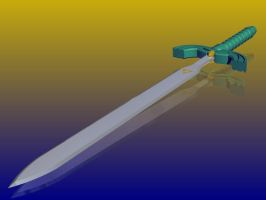 Link's Master Sword by Zyzic