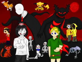 .:What is creepypasta? Let us show you:. by Honoo-Koneco