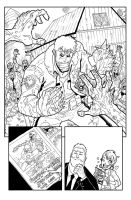 Fanboys Vs Zombies #8 pg 1 by theFranchize