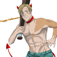 Lexis: Wishing you a Scary Halloween by Zombay-Senpai