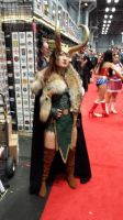 NYCC - Sexy Loki Cosplay by DestinyDecade