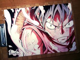 Monkey D. Luffy : Second Gear by kazukizein