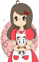 Bee and puppycat by Lizzy-bunnn