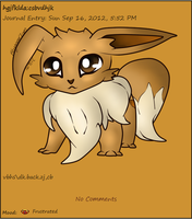 Updated Eevee Journal Skin by AbyssinChaos