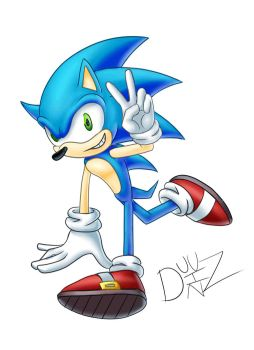 Some Bad Sonic Art by Duuz-Diz-Din