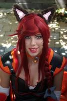Leagues of legends-Foxfire Ahri by Mitukii