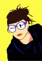 the same in my glasses vector by lollyyy