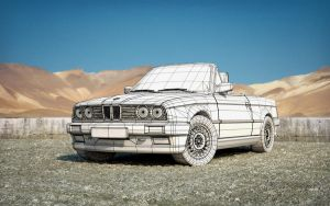 BMW 325i Convertible wire by M0NTEZUMA