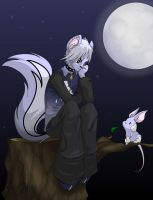 Ponder by Moonlight by albinoshadow