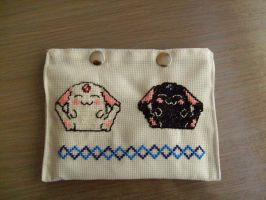 Cross stitch Mokona for DS by Nayru25