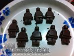 Chocolate LEGO people! by Chibi-Warmonger