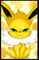 Cute Jolteon by Anais-thunder-pen