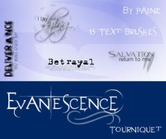 Evanescence - Tourniquet by NemesisDivina666