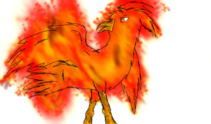 Takeshi - phoenix form :3 by Forumsdackel