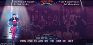 [GIF] SNSD - Japanese Website [Paparazzi] by imawesomeee03