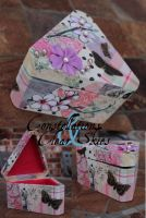 Sweetie Pie Decoupage Box by bejeweledmoonphoto