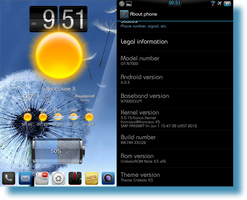 Android 4.0.3 on Galaxy Note n7000 white by kingwicked