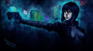 ghost in the shell by crespella