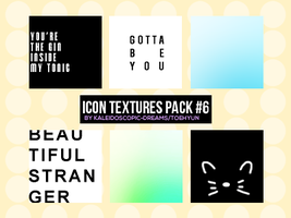 Icon Textures: Pack #6 by Kaleidoscopic-Dreams