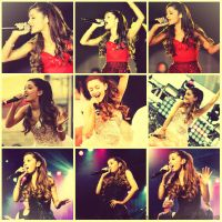 Ariana Grande's ~ Concert by BetthinaRedfield
