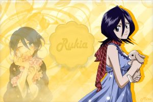 Rukia Wallpaper^^ Xenia Request by xXLolipopGurlXx