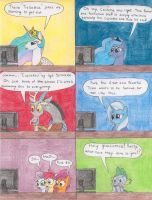 MLP:FIM Cast discover: Fanart by tod309