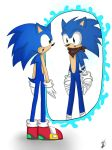 Modern and Boom Sonic meeting by Mellissafox9