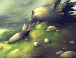 Sheepwrecked by sulfurbunny