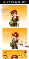 Interview with Gaara by Mikutashi