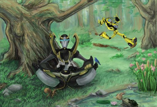 TF: At Two With Nature by xanykaos