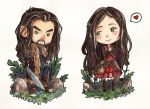 Tiny Fierce Thorin - Commission for SanaraSachiko by LonelyFullMoon