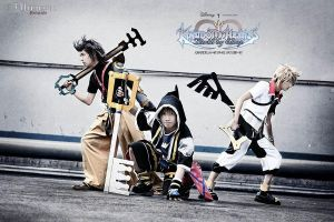 Kingdom Hearts by kurorochan