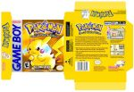Pokemon Yellow Box Redesign by ADRIAN-NATION