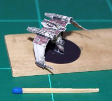 V19 Torrent Starfighter - Star Wars miniature by SarienSpiderDroid