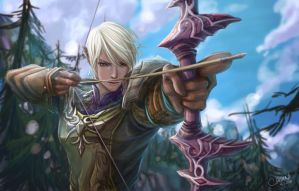 Tera online - High elf by chisien