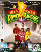 Mighty Morphin Power Ragers Season 3 by CaptainBarringer