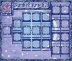 Lunar Knights of Kindness Rank Sheet 1, Knights by GeneralDurandal