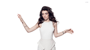 Lorde - PNG/Render by tommz2011