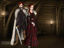 Starks. by BlackRoseOfSummer