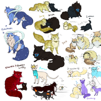OP Even more kitties by Nire-chan
