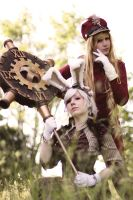 Steampunk Wonderland :: 01 by Deathly-Sora