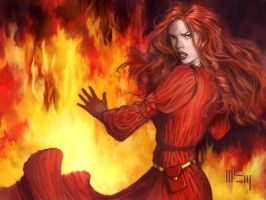 Game of Thrones: Melisandre by PatrickMcEvoy