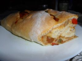 Vegetarian stuffed bread ~ by GeetikaSB