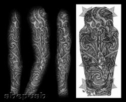 Bio - Maori mix full sleeve by shepush