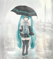 In Rain by novcel