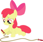 Nopony to jump rope with by Porygon2z