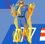 The Blazing Captain Falcon by revivedracer209