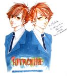 -Ouran- Twins by korilin